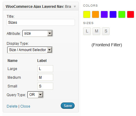WooCommerce Ajax Layered Navigation