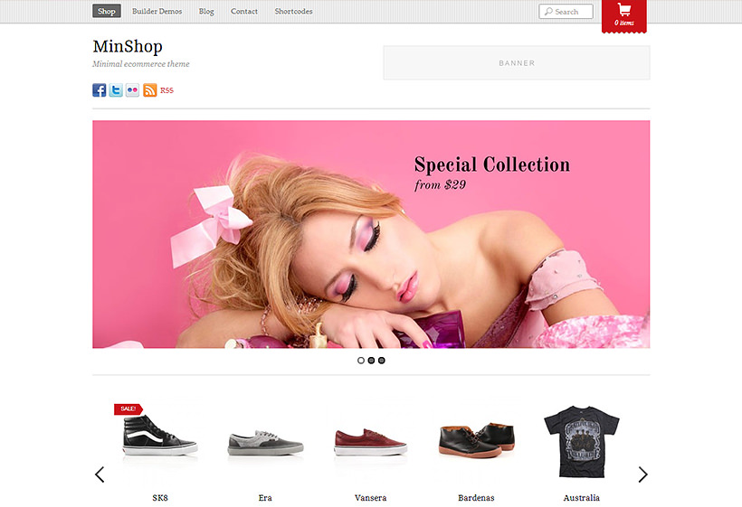 Themify Minshop WooCommerce Themes