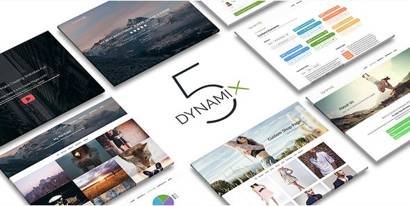 DynamiX - Business / Corporate WordPress Theme