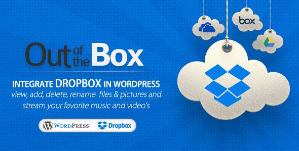 Out-of-the-Box - Dropbox plugin for WordPress