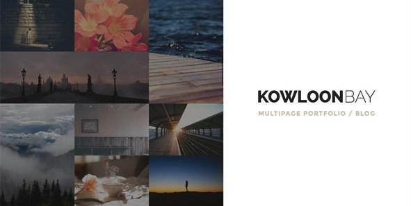 KowloonBay - Multipage Portfolio / Blog WP Theme
