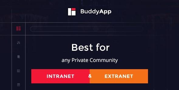 BuddyApp - Mobile First Community WordPress theme