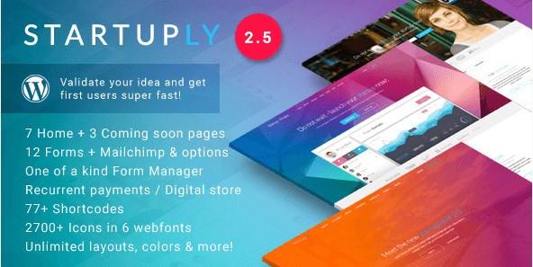 Startuply - Multi-Purpose Startup Theme