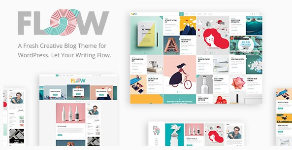 Flow - A Fresh Creative Blog Theme