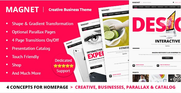 MAGNET - Creative Business WordPress Theme