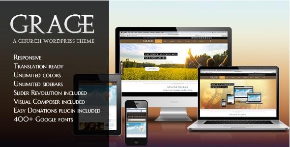 Grace - A Responsive Church WordPress Theme