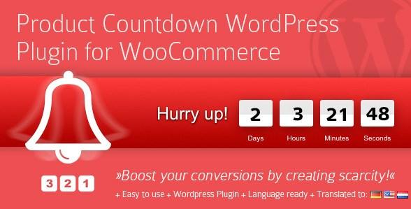 Product Countdown WordPress Plugin