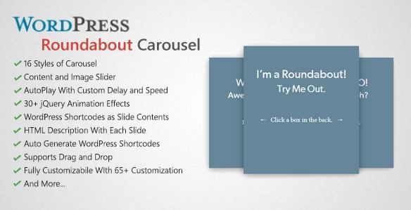 Roundabout - WordPress Carousel Slider Plugin