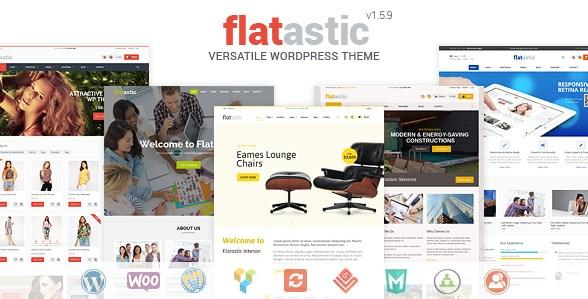 Flatastic - Versatile WordPress Theme