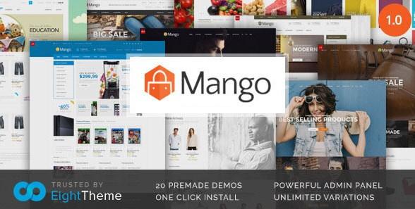 Mango - Responsive Woocommerce Theme