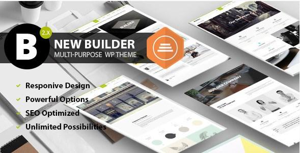 BUILDER - Responsive Multi-Purpose Theme