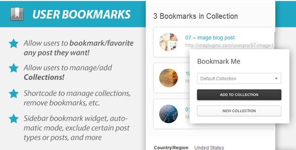 WordPress User Bookmarks (Standalone Version)