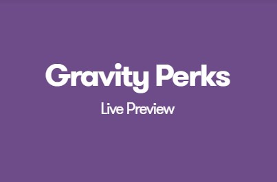 Gravity Perks Live Preview
