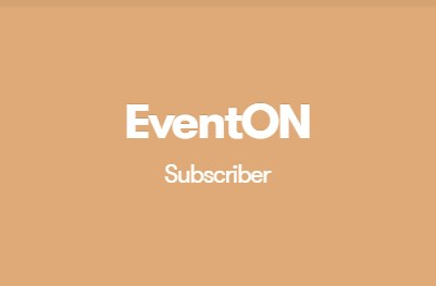 EventON Subscriber Addon
