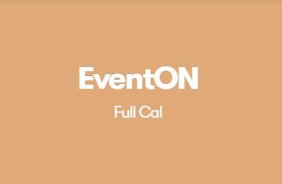 EventON Full Cal Addon
