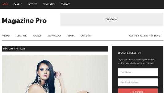 StudioPress Magazine Pro Theme