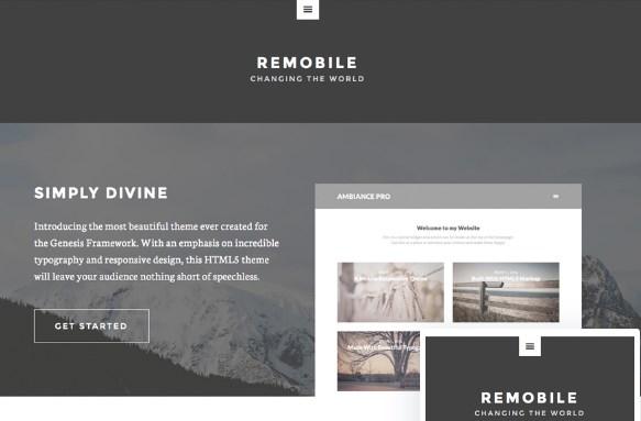StudioPress Remobile Pro Theme