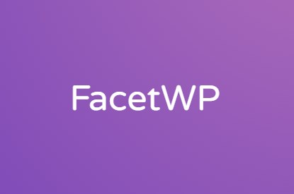 FacetWP - Advanced Filtering Plugin for Wordpress
