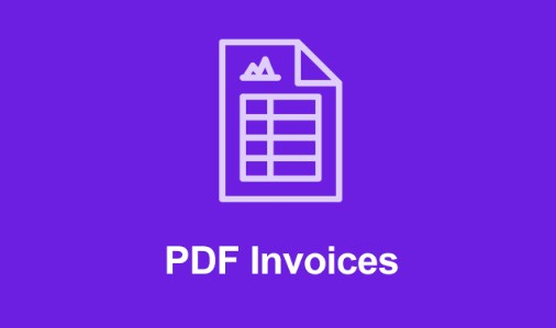 Easy Digital Downloads PDF Invoices Addon